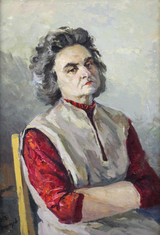 Огородов Г.В. Портрет жены художника
