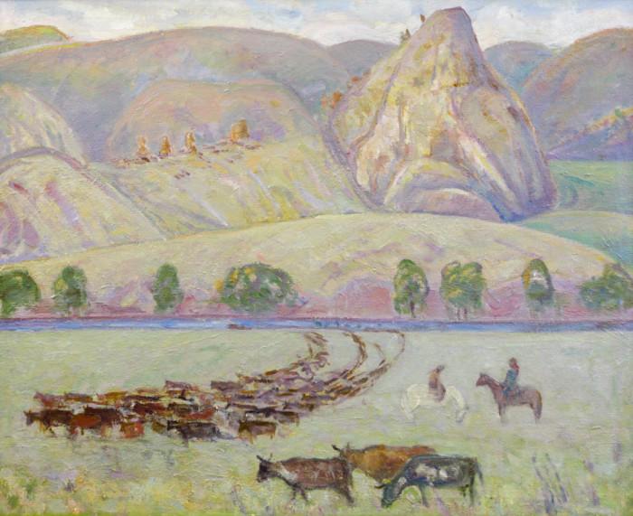 Харин Г.Е. Колхозное стадо