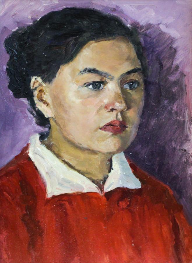 Ростемберский Ю.В. Девушка в красном