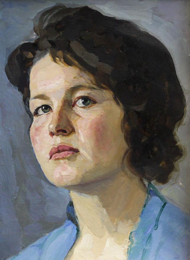 Ростемберский Ю.В. Портрет студентки