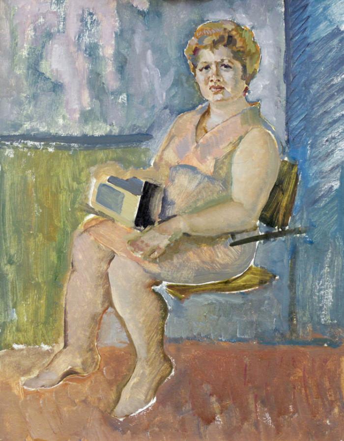 Ростемберский Ю.В. Портрет женщины
