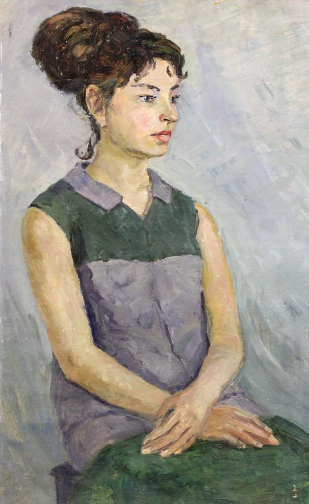 Ростемберский Ю.В. Портрет Гали