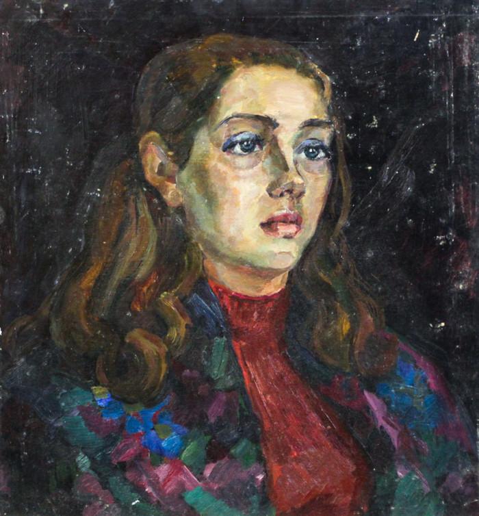 Ростемберский Ю.В. Портрет Наташи