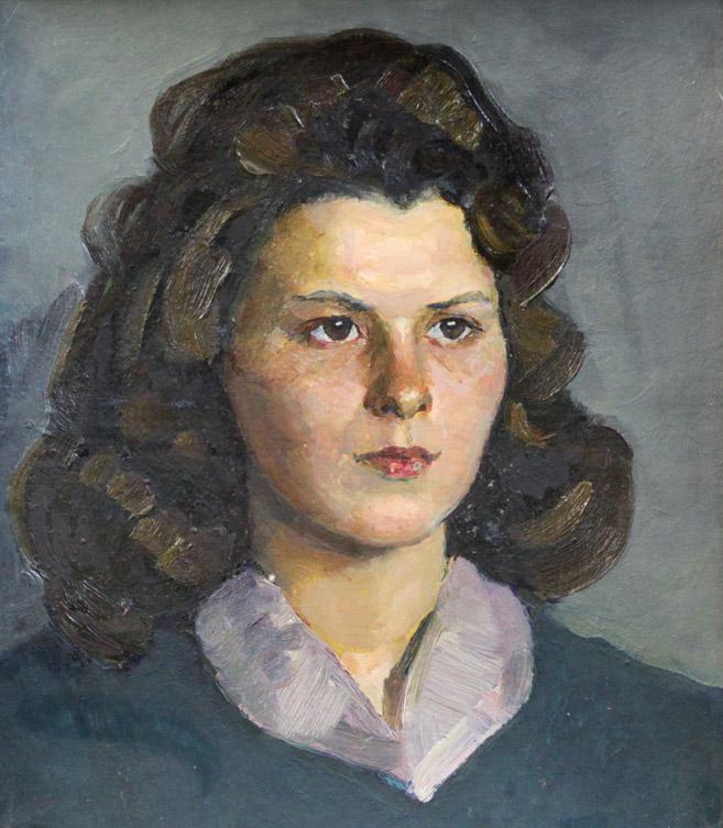 Ростемберский Ю.В. Портрет девушки