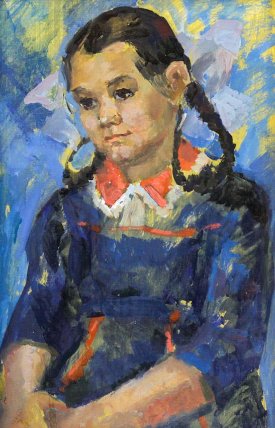 Ростемберский Ю.В. Портрет девочки