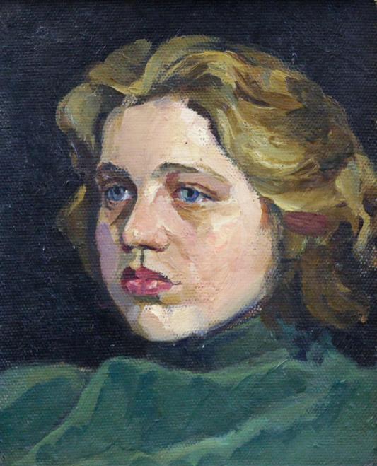 Ростемберский Ю.В. Женский портрет