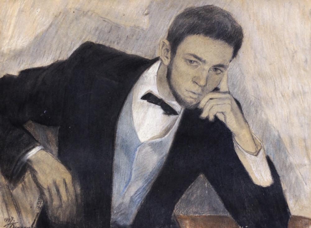 Огородов Г.В. Портрет сына