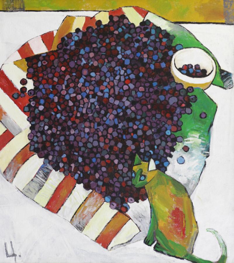 Цимболенко О. Кошка и ягоды