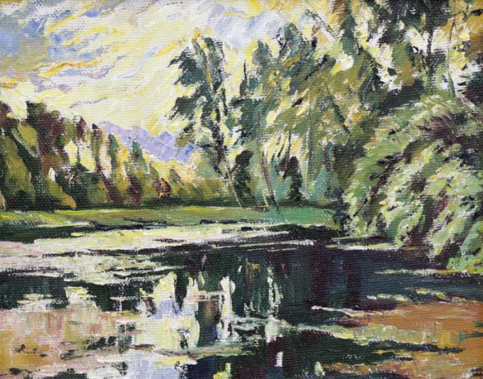 Стремоухова С. На озере