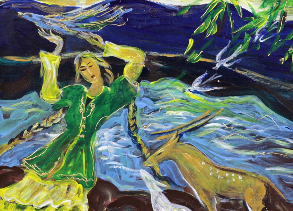 Стремоухова С. Легенда о Янган-Тау III