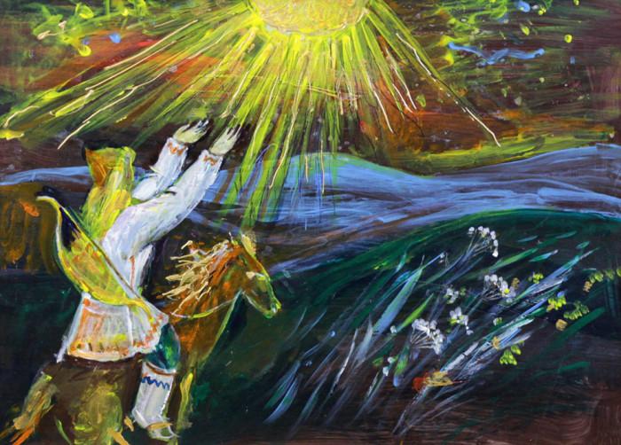 Стремоухова С. Легенда о Янган-Тау II