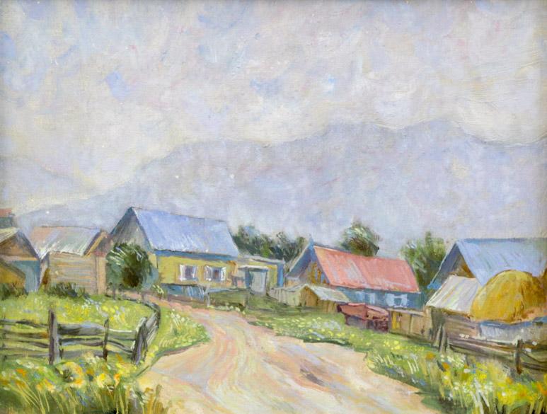 Мустаев Р.Х. Башкирская деревня