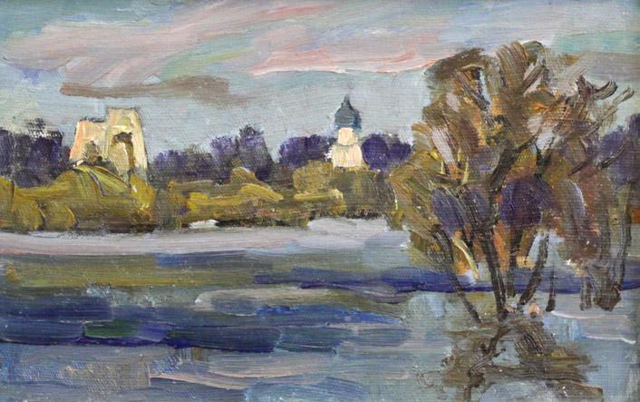 Сазонов Р. Новгородский храм