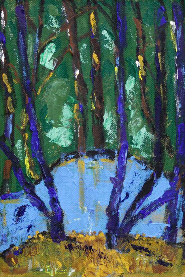 Харин А.Г. Пруд в лесу