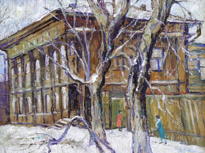 Стремоухова С. Старый уфимский дворик