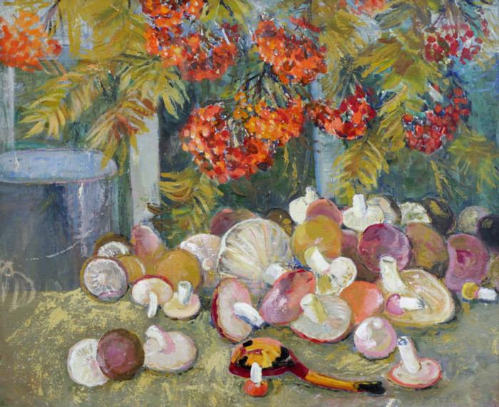 Харин Г.Е. Натюрморт с грибами