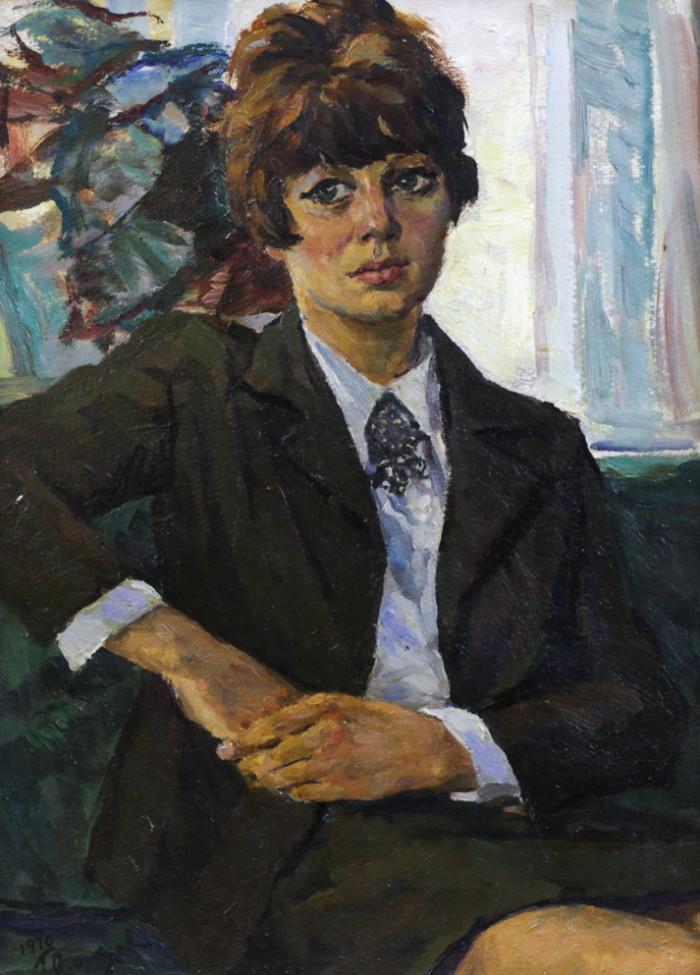 Огородов Г.В. Портрет молодой девушки
