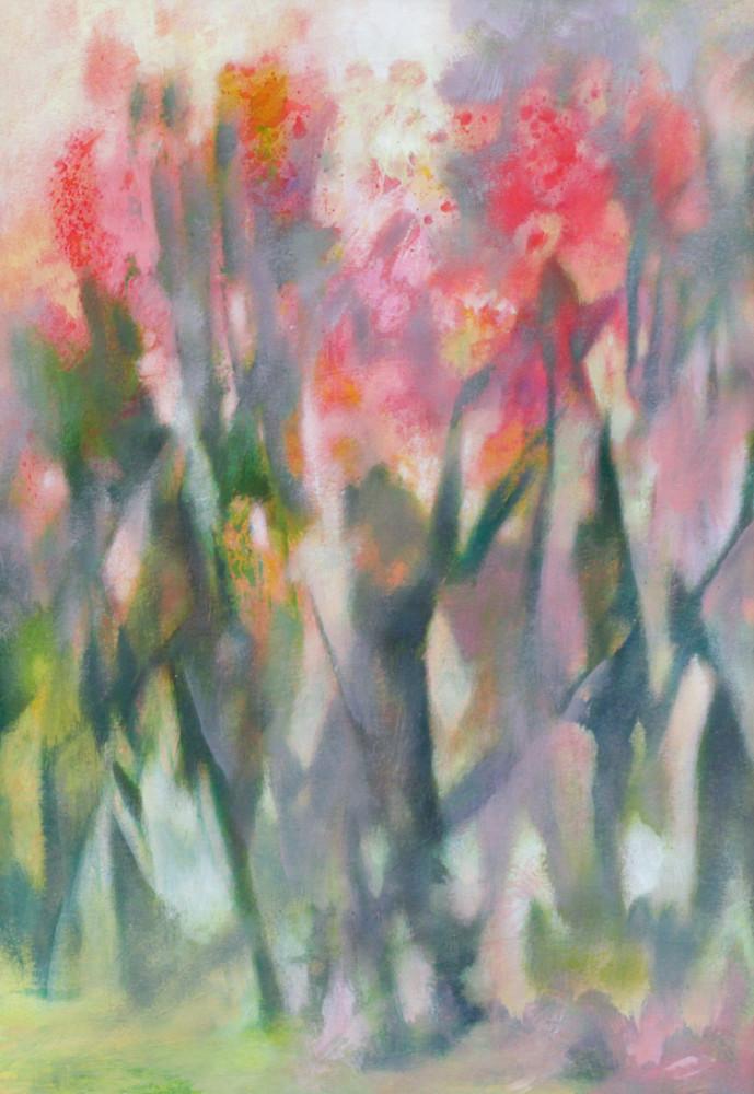 Спиридонов М. Кремовые цветы II