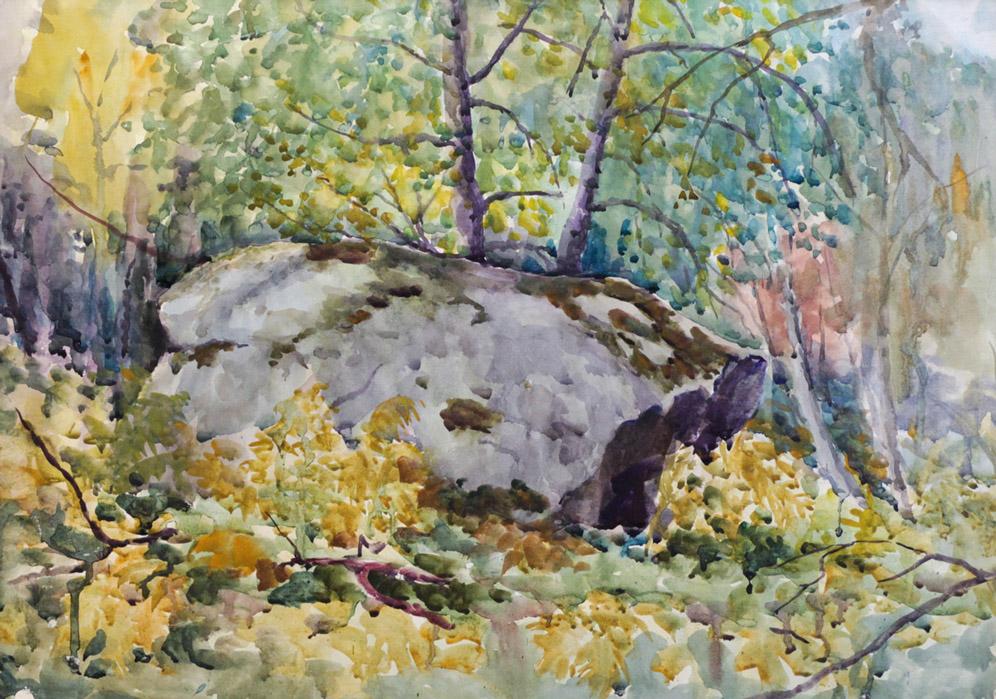 Ерёменко П.Я. Камень в лесу