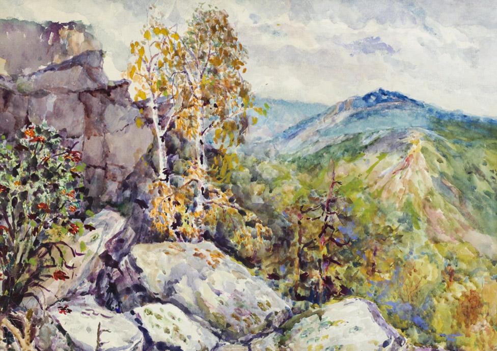 Ерёменко П.Я. Уральский пейзаж