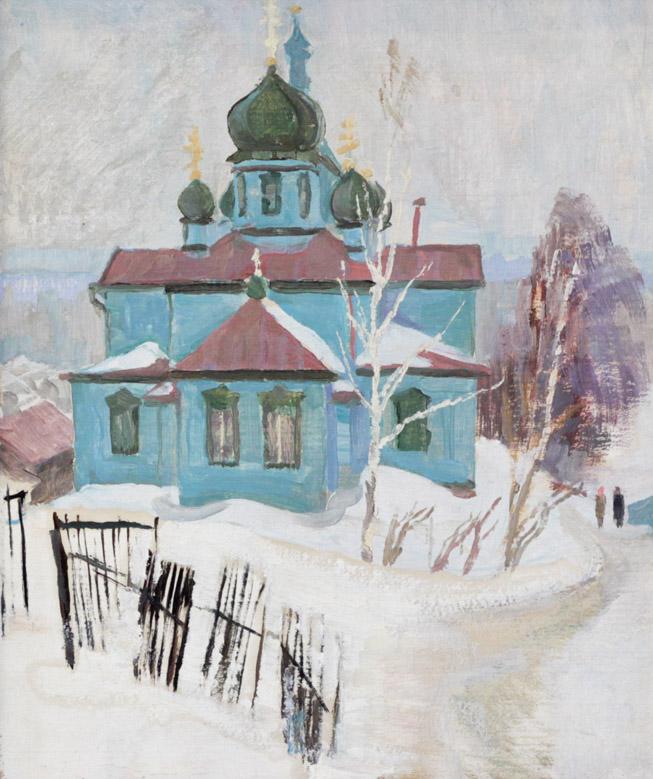 Одинцов Н.П. Церковь в старой Уфе