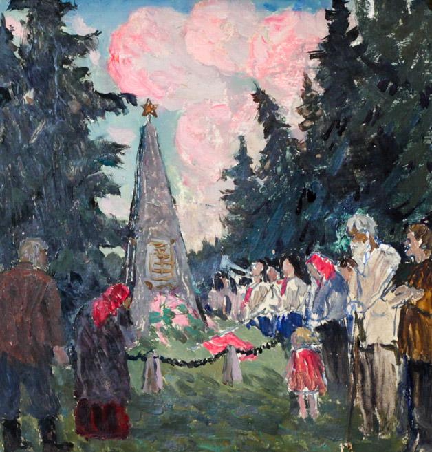 Огородов Г.В. Клятва пионеров