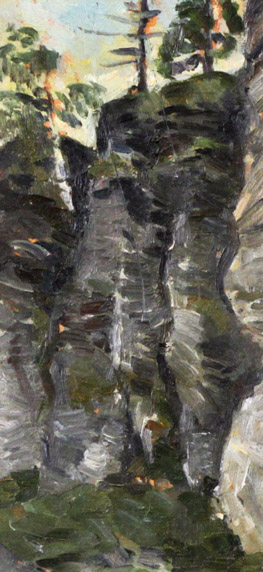 Стремоухова С. Висячий камень