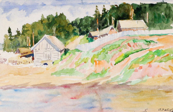 Огородов Г.В. На реке