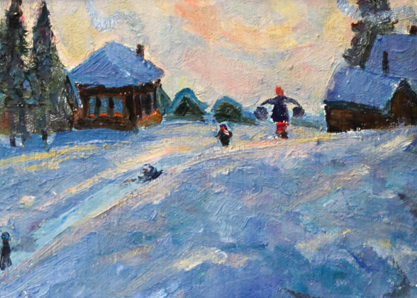 Харин Г.Е. Зима в Максимовке