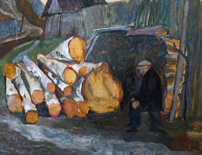 Одинцов Н.П. Старик и дрова