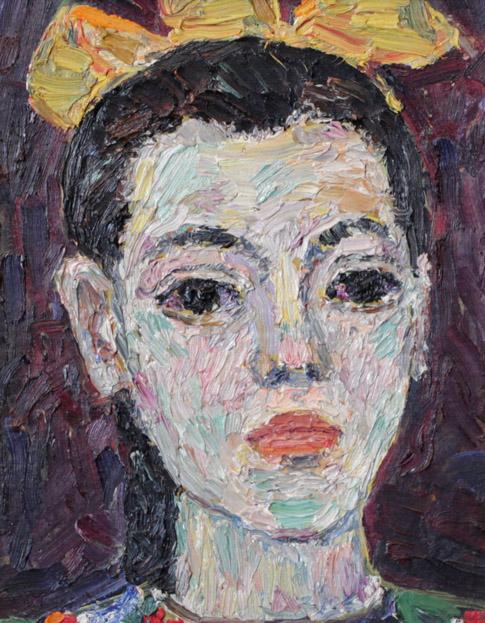 Ростемберский Ю.В. Портрет дочери
