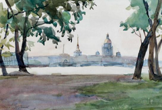 Селиков Н. Ленинград