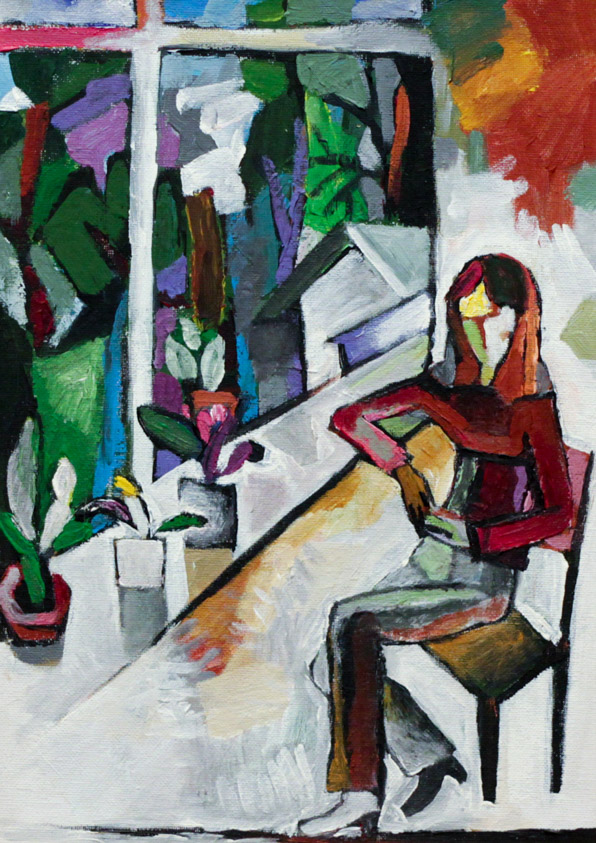 Цимболенко О. Девушка у окна