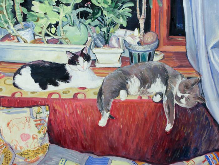 Стремоухова С. Харинские коты. Коля и Симба
