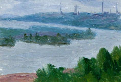 Мустаев Р.Х. Вид на Белую