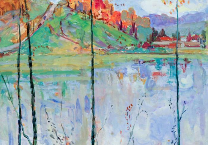 Харин Г.Е. Осень на реке