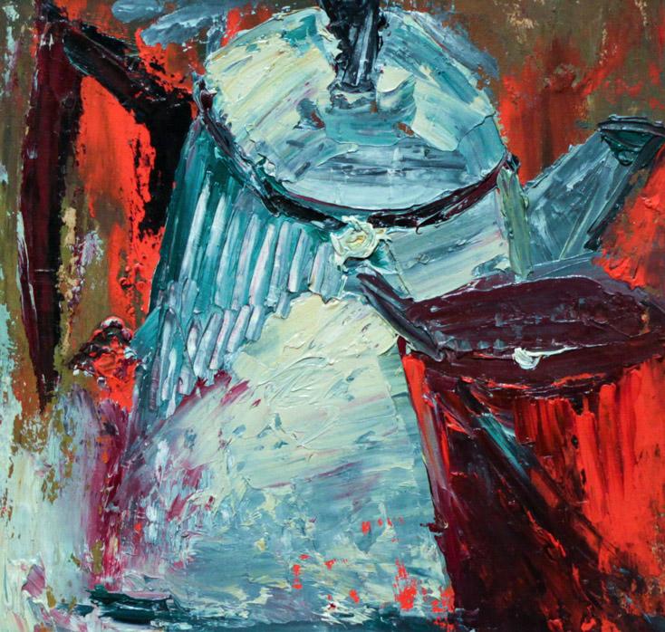 Давлетбаев М. Натюрморт с чайником