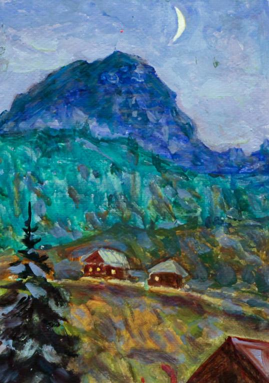 Харин Г.Е. Ночь в горах