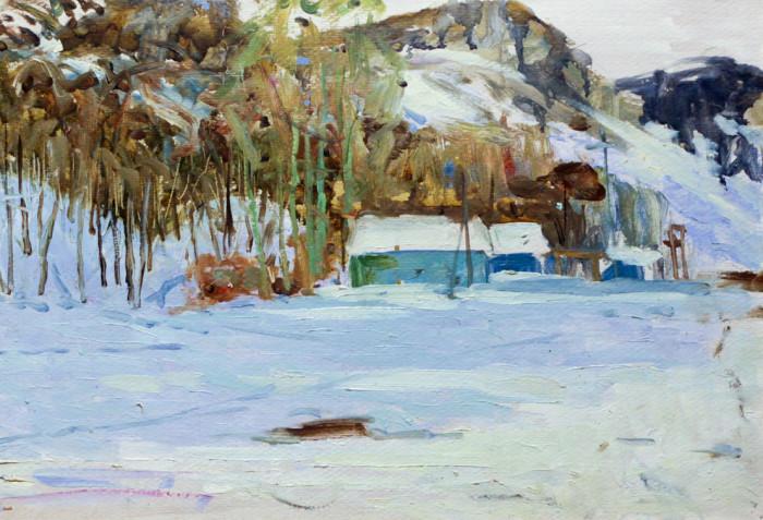 Харин Г.Е. Зимний пейзаж