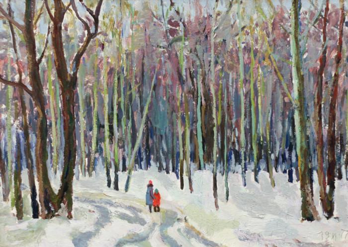 Харин Г.Е. Прогулка в лесу