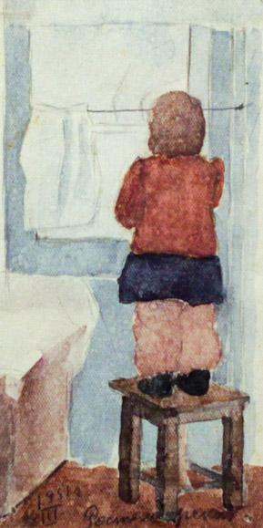 Ростемберский Ю.В. Девочка у окна