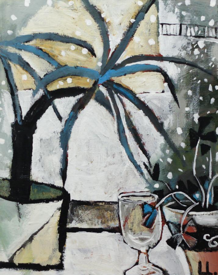 Цимболенко О. Вид из окна