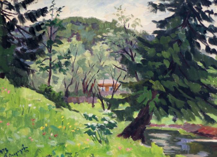 Огородов Г.В. Домик в лесу