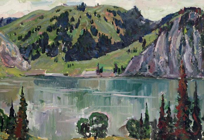 Харин Г.Е. Озеро в горах