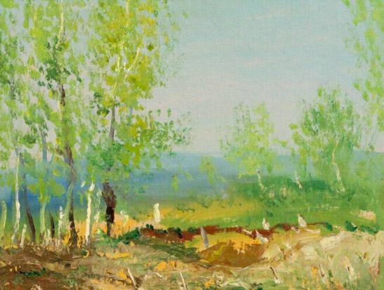 Огородов Г.В. Весна