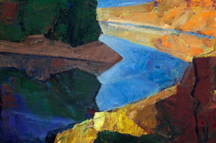 Рязанов В. Вечер на реке