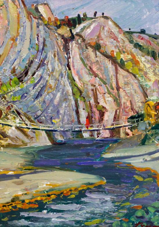 Харин Г.Е. Канатный мост