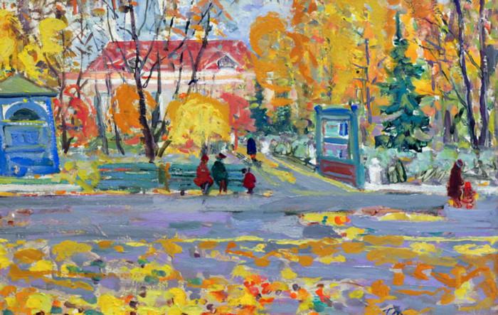 Харин Г.Е. Осеннее кружево