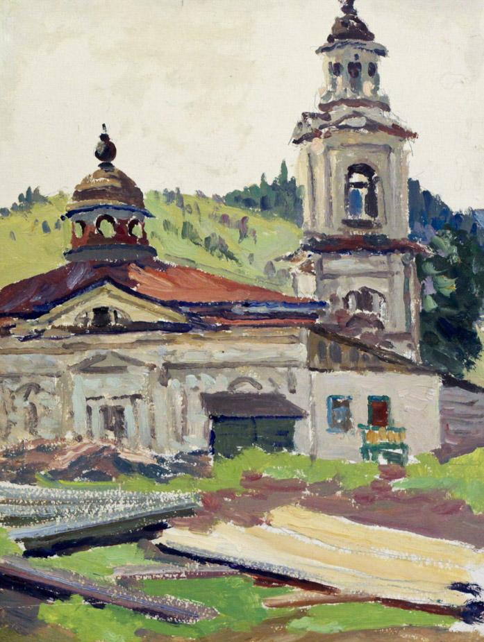 Огородов Г.В. Миньярская церковь