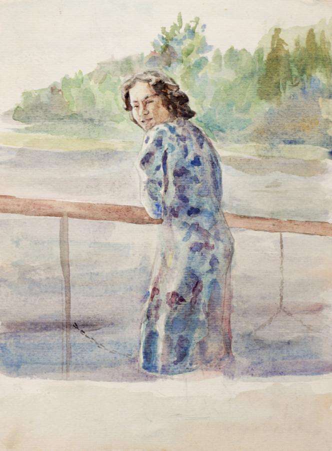 Селиков Н. На пароходе
